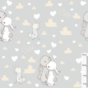 króliczki bawełna premium