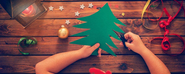 Bawełniane dekoracje na Święta